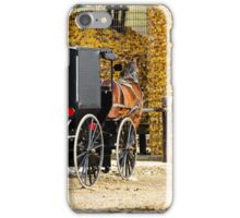 Amish Buggy Parking iPhone Case/Skin