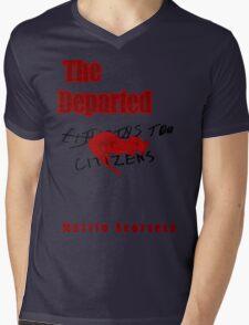 The Departed Minimalist Design Mens V-Neck T-Shirt