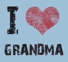 I love Grandma One Piece - Short Sleeve