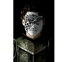 Robb Stark House War Paint Photographic Print