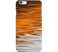Orange Water iPhone Case/Skin