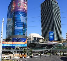Las Vegas Strip by Frank Romeo