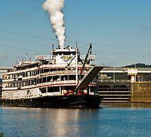 Delta Queen Last Voyage by Tony  Bazidlo