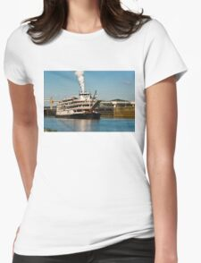 Delta Queen Last Voyage Womens Fitted T-Shirt