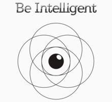 Be Intelligent Erudite Eye - Black  One Piece - Short Sleeve
