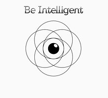 Be Intelligent Erudite Eye - Black  Unisex T-Shirt