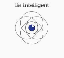 Be Intelligent Erudite Eye - Black & Blue Unisex T-Shirt