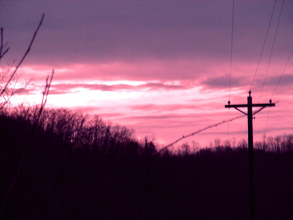 December Sunrise by rebecca smith