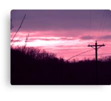 December Sunrise Canvas Print