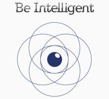 Be Intelligent Erudite Eye - Blue Kids Clothes