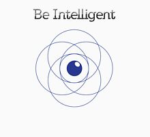 Be Intelligent Erudite Eye - Blue Unisex T-Shirt