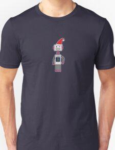 Christmas Robot Unisex T-Shirt