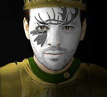 Renly Baratheon House War Paint by HilaryHeffron