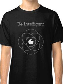 Be Intelligent Erudite Eye - White Classic T-Shirt