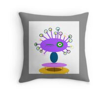 ART COLLECTABLE, POLLY DOLLOPS lavendar Throw Pillow