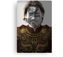 Jaime Lannister Lion House War Paint Canvas Print