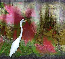 Snowy Egret by Ginny Schmidt