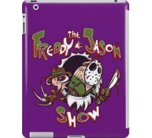 The Freddy and Jason Show iPad Case/Skin