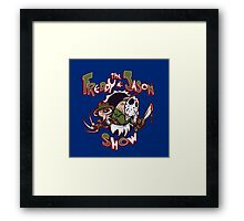 The Freddy and Jason Show Framed Print