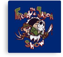 The Freddy and Jason Show Canvas Print