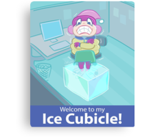 Ice Cubicle Canvas Print