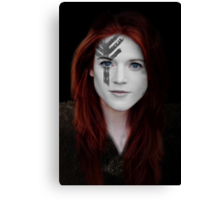 Ygritte Wildling Game of Thrones War Paint Canvas Print