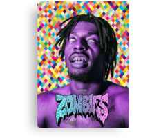 Flatbush Zombies T-Shirt Canvas Print