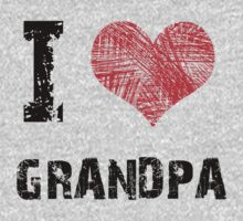I love Grandpa Kids Clothes