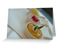 Summer dessert Greeting Card