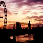 London Silhouette by Michael Farruggia