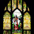 The Church Window by Tony  Bazidlo