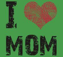 I Love Mom Baby Tee