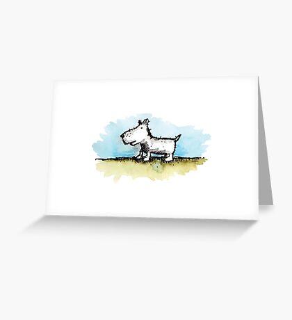 Moonah Dog Greeting Card