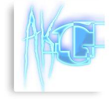 AKG Youtube Logo Canvas Print