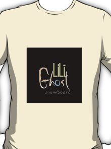LiLi Ghost - Snow Board T-Shirt