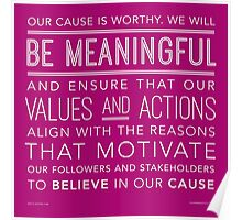 Be Meaningful Poster