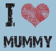 I Love My Mummy Baby Tee