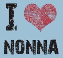 I Love Nonna Kids Tee