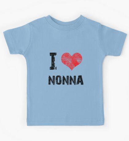 I Love Nonna Kids Tee