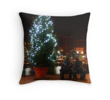 Christmas Thinkers Throw Pillow