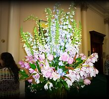 Magnificent Floral Arrangement in Government House, Vic. by EdsMum