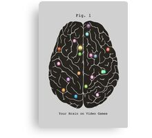 Your Brain On Video Games  Canvas Print