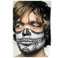 Peter Dinklage Day of the Dead Dia de los Muertos Makeup Poster