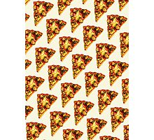 Pizza Pattern Photographic Print