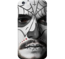 Kit Harington Day of the Dead Dia de los Muertos Makeup iPhone Case/Skin