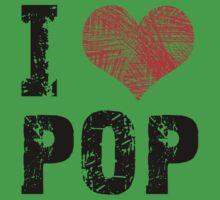 I Love Pop Kids Tee