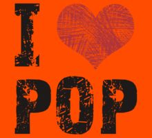 I Love Pop Kids Clothes
