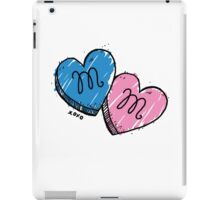 MM Candy Hearts iPad Case/Skin