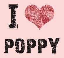 I Love Poppy One Piece - Long Sleeve