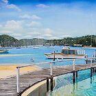 Winneerreny Bay Pittwater by Sarina Tomchin